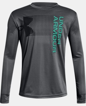 Boys' UA Crossfade Long Sleeve   $25