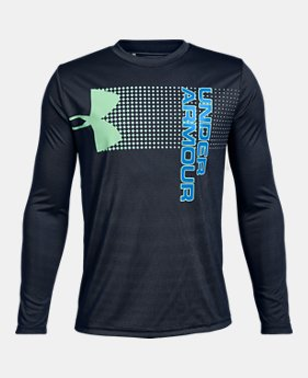 99abfecbd New to Outlet Boys  UA Crossfade Long Sleeve 2 Colors Available  15 to   18.75