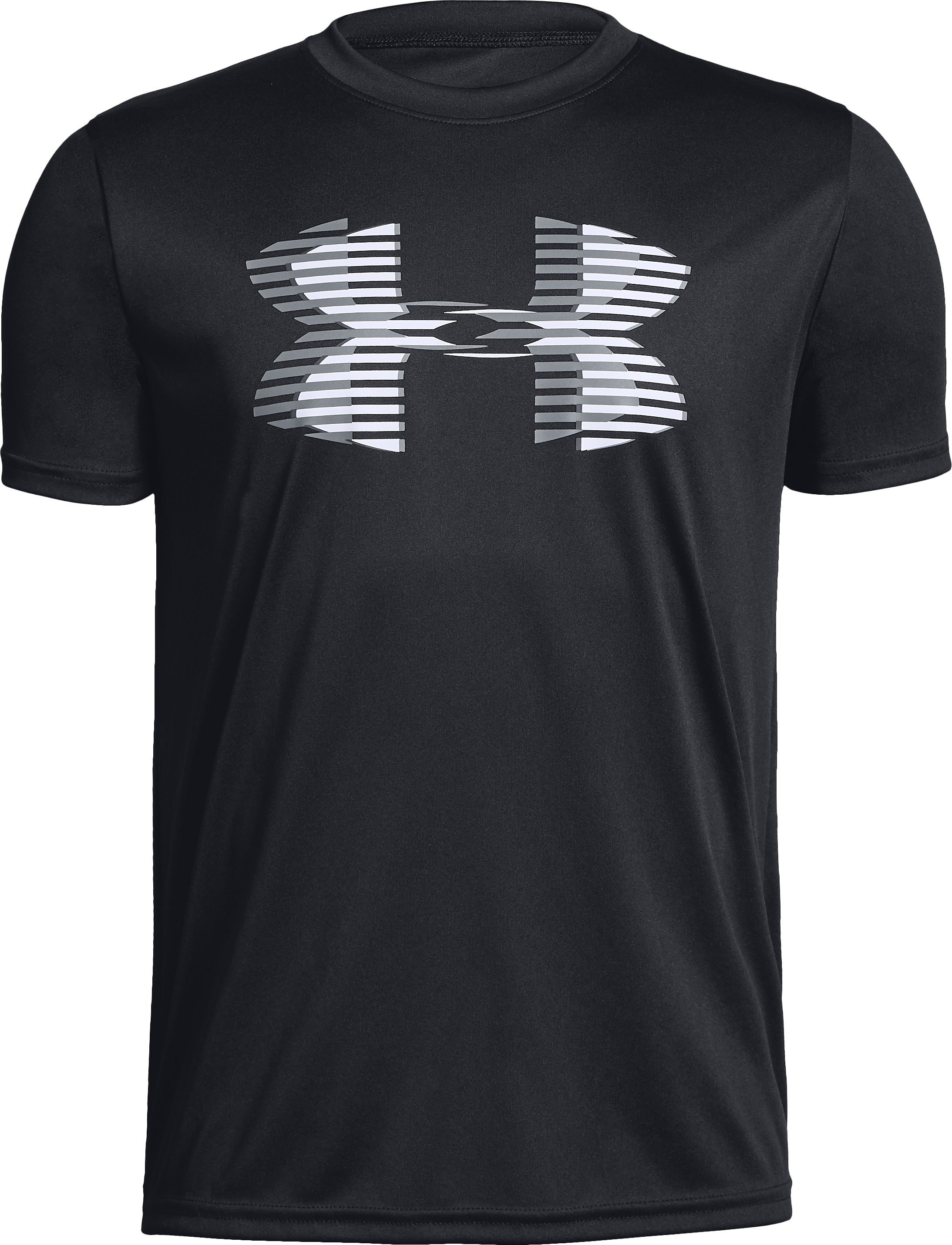 Boys' UA Tech™ Big Logo Solid T-Shirt, Black