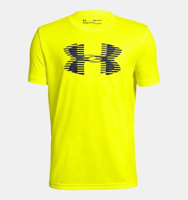 62499449 Boys' UA Tech™ Big Logo Solid T-Shirt   Under Armour US