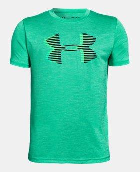 5b14e395 Boys' UA Tech™ Big Logo Printed T-Shirt 1 Color Available $30