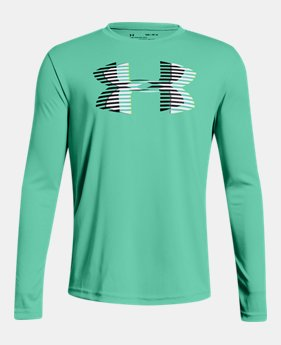 54a59109ff Boys' Green Kids (Size 8+) Long Sleeve Shirts | Under Armour US