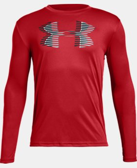 Boys' UA Tech™ Big Logo Long Sleeve   $25