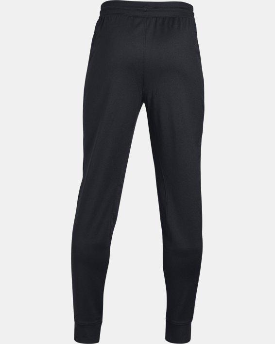 Boys' UA Pennant Tapered Pants, Black, pdpMainDesktop image number 5