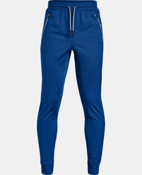 Boys' UA Pennant Tapered Pants  1  Color Available $40
