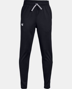 Best Seller Boys' UA Brawler 2.0 Tapered Pants  6  Colors Available $30