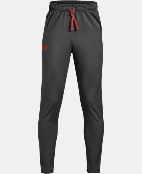 New Arrival Boys' UA Brawler 2.0 Tapered Pants  3  Colors Available $30