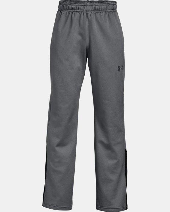 Boys' UA Brawler 2.0 Pants, Gray, pdpMainDesktop image number 4