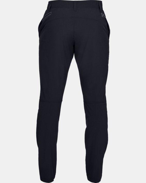 Men's UA Fusion Pants, Black, pdpMainDesktop image number 4