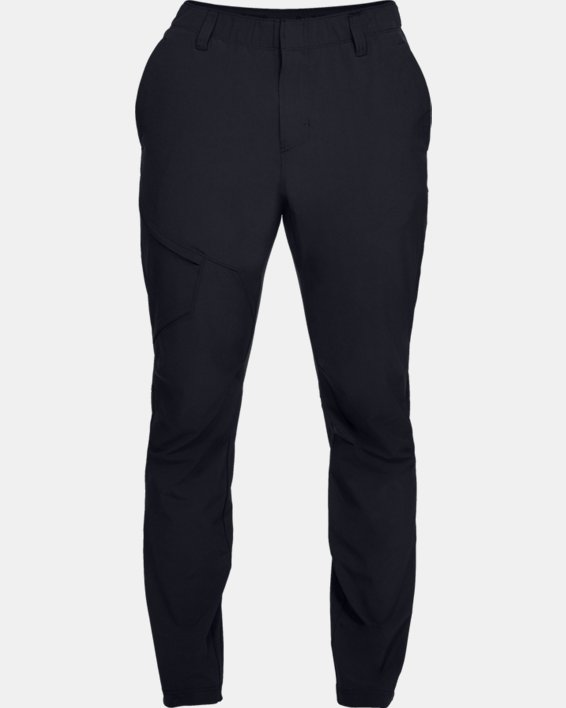 Men's UA Fusion Pants, Black, pdpMainDesktop image number 3