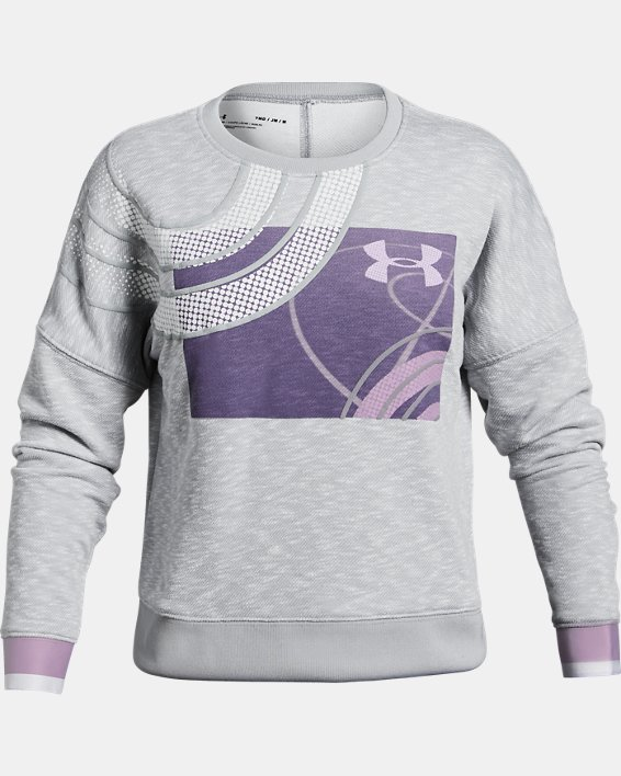 Girls' UA SPWW Knockout Pullover, White, pdpMainDesktop image number 0