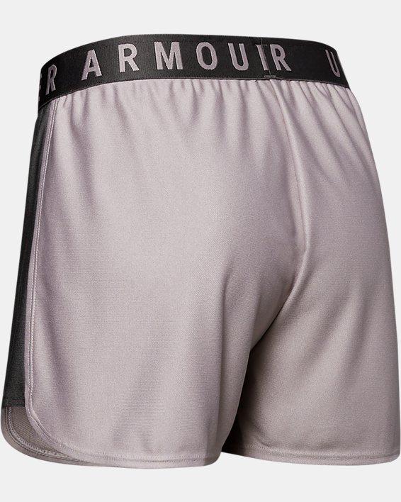 Women's UA Play Up 2.0 Shorts, Gray, pdpMainDesktop image number 1