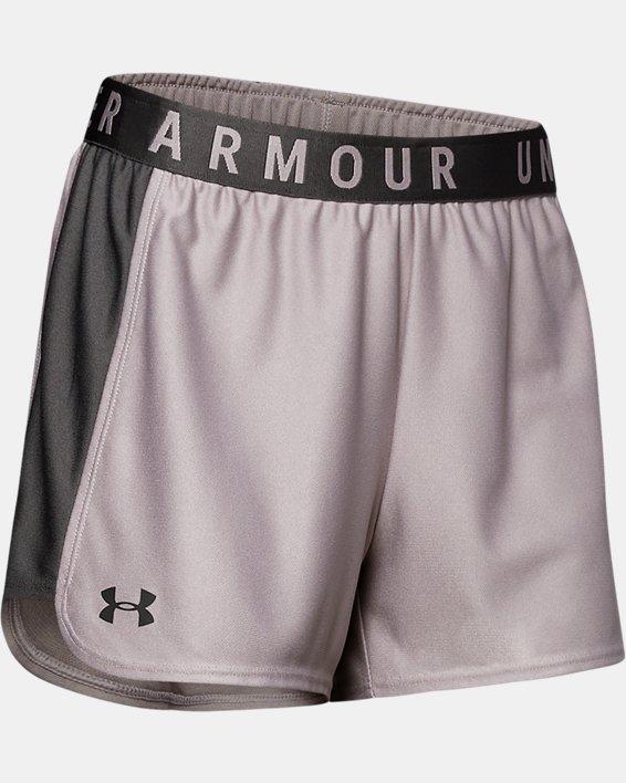 Women's UA Play Up 2.0 Shorts, Gray, pdpMainDesktop image number 0