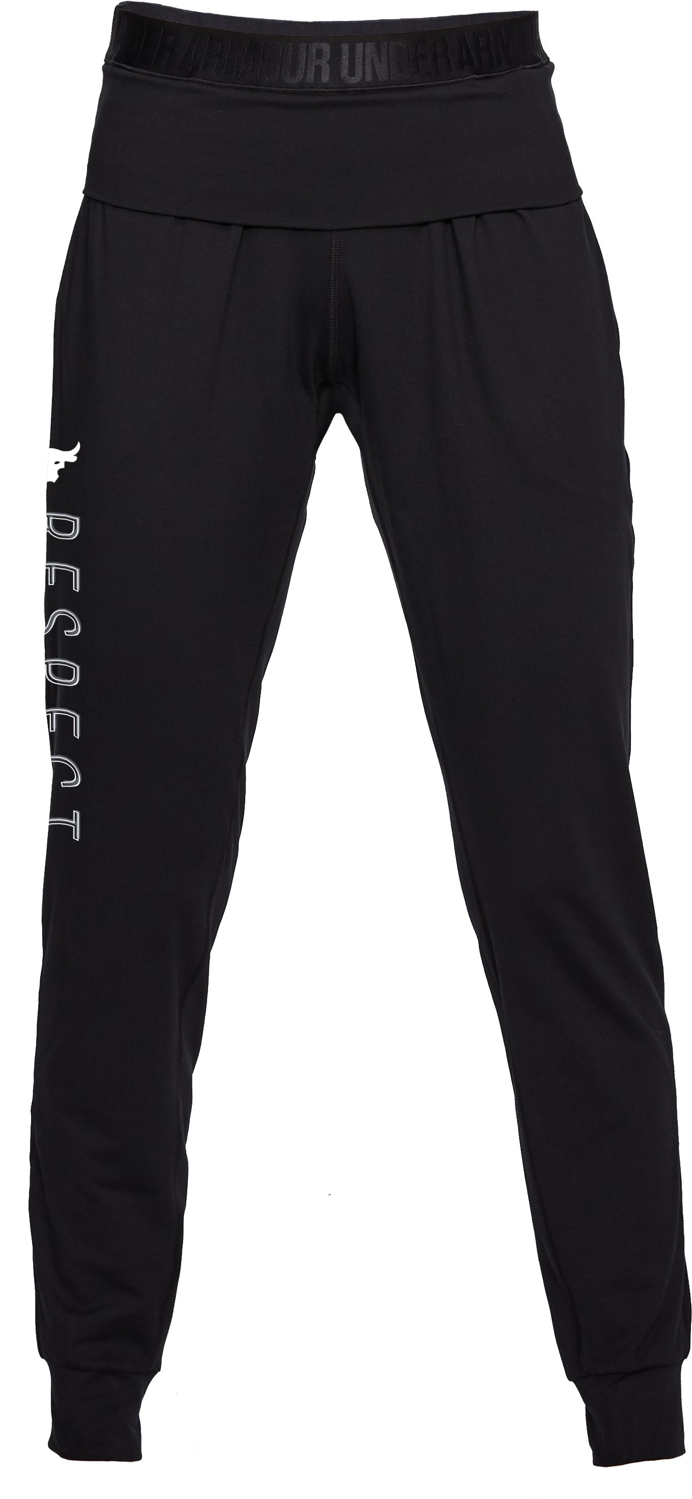 Women's UA x Project Rock USDNA Joggers, Black ,