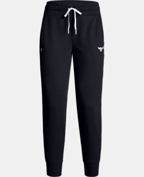 New Arrival Women's UA x Project Rock Double Knit Pants  2  Colors Available $80