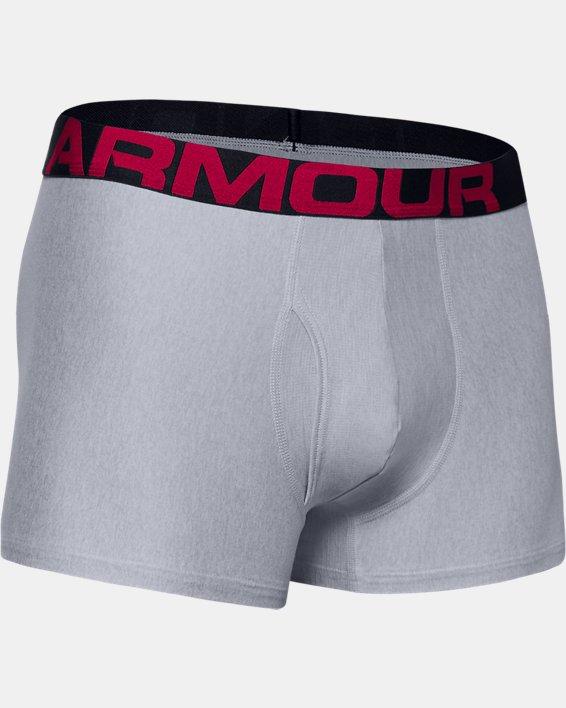 "Men's UA Tech™ 3"" Boxerjock®, Gray, pdpMainDesktop image number 2"