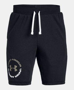 e3f6c1307 New Arrival Boys' UA Rival Terry Shorts 1 Color Available $30