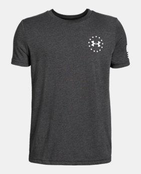 018269ef182c3c Boys' UA Freedom Flag T-Shirt 4 Colors Available $20