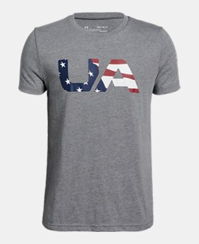 1bd925b72b74 Boys  UA Freedom BFL T-Shirt FREE U.S. SHIPPING 2 Colors Available  20