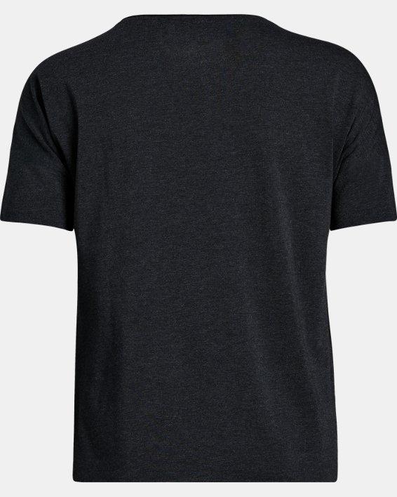Women's UA Sportstyle Stadium T-Shirt, Black, pdpMainDesktop image number 5