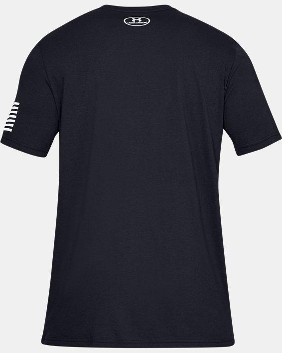 Men's UA Freedom Logo T-Shirt, Black, pdpMainDesktop image number 4