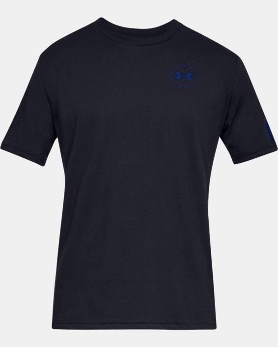 Men's UA Freedom Express T-Shirt, Black, pdpMainDesktop image number 3
