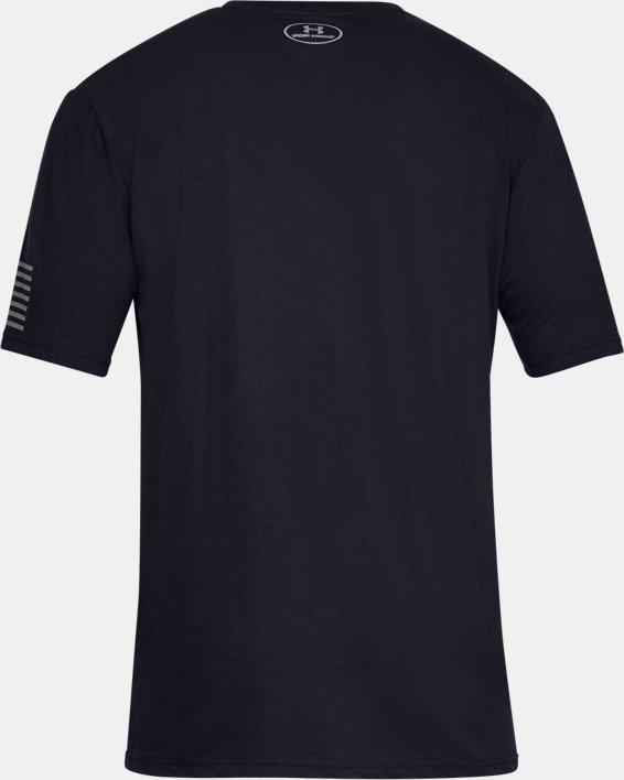 Men's UA Freedom Tonal BFL T-Shirt, Black, pdpMainDesktop image number 4