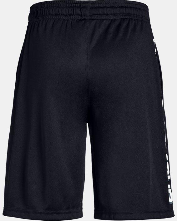 Boys' UA Prototype Wordmark Shorts, Black, pdpMainDesktop image number 5