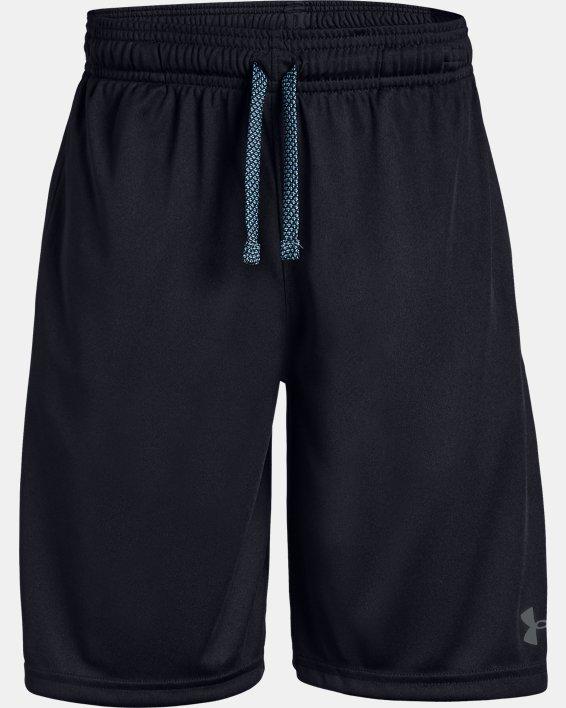 Boys' UA Prototype Wordmark Shorts, Black, pdpMainDesktop image number 4