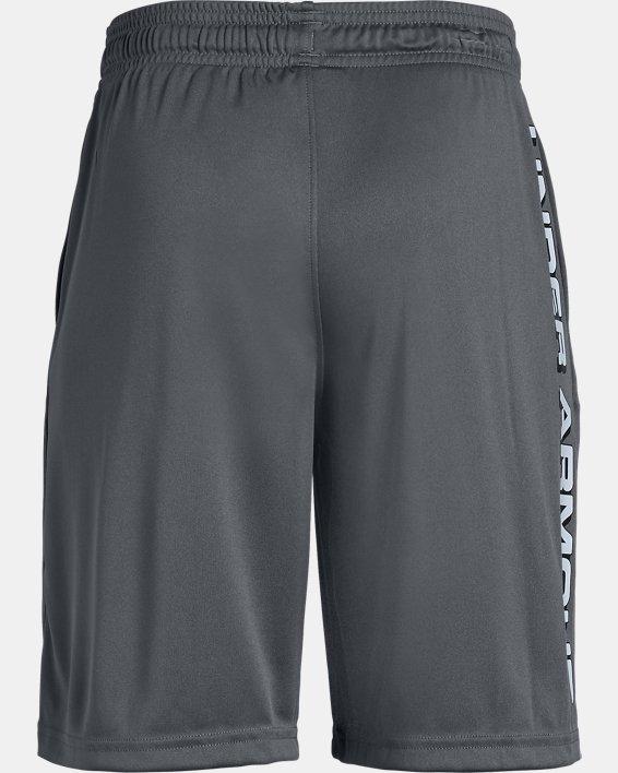 Boys' UA Prototype Wordmark Shorts, Gray, pdpMainDesktop image number 5