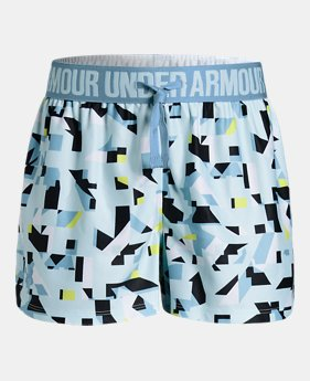 ddca47bd9e43 Girls  UA Play Up Printed Shorts 4 Colors Available  25