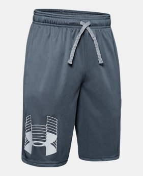 48b26ccc229d Boys' UA Prototype Logo Shorts 1 Color Available $20
