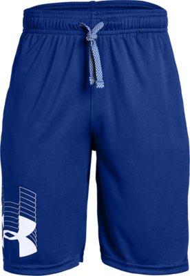 Details about  /Under Armour PROTOTYPE Elastic Boys Sport Pants Short Mod Gray//Pitch Gray show original title