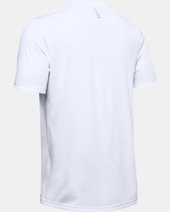 Men's UA International Run Day GX T-Shirt, White, pdpMainDesktop image number 5
