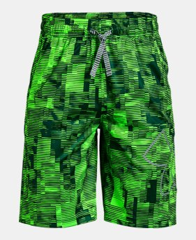 0824cd7e7 New to Outlet Boys' UA Renegade 2.0 Printed Shorts 2 Colors Available $24.99