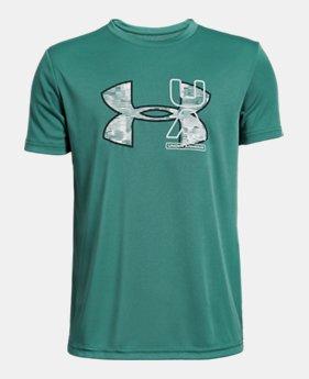 8963ad222e166 Boys  UA UV Logo T-Shirt 3 Colors Available  25
