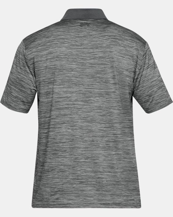 Men's UA Performance Polo Textured, Gray, pdpMainDesktop image number 4