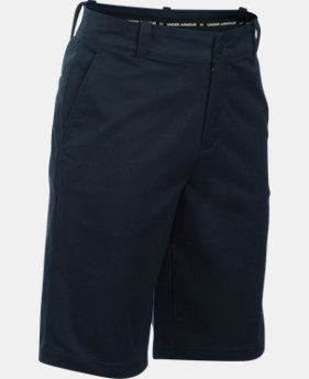 New Arrival Boys' UA Uniform Chino Slim Fit Husky Shorts  2  Colors Available $45