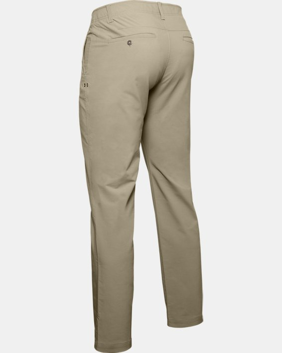 Men's UA Match Play Pants, Brown, pdpMainDesktop image number 5