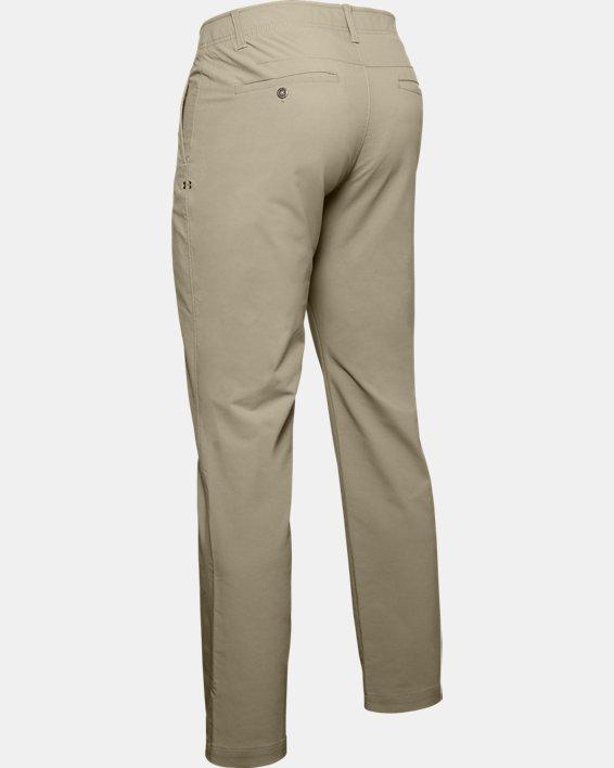 Men's UA Match Play Pants, Brown, pdpMainDesktop image number 5