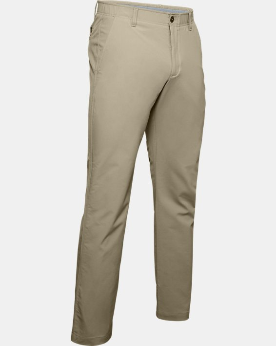 Men's UA Match Play Pants, Brown, pdpMainDesktop image number 4