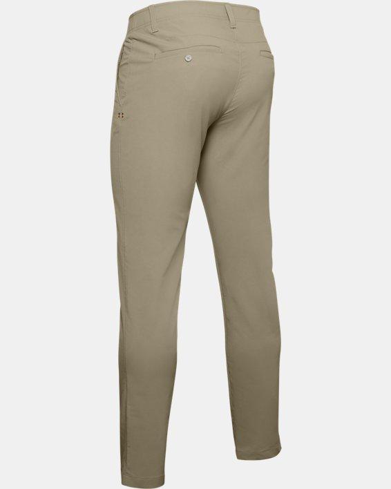Men's UA Match Play Tapered Pants, Brown, pdpMainDesktop image number 5