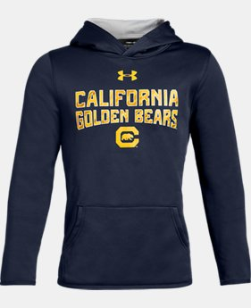 Boys' Armour Fleece® Collegiate Hoodie LIMITED TIME ONLY 1  Color Available $35