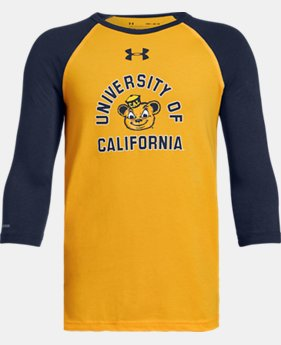 New Arrival Boys' UA Freestyle Baseball Collegiate Long Sleeve Shirt  5  Colors Available $32