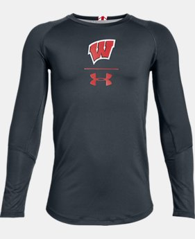 New Arrival Boys' UA MK-1 Collegiate Long Sleeve Shirt  1  Color Available $36