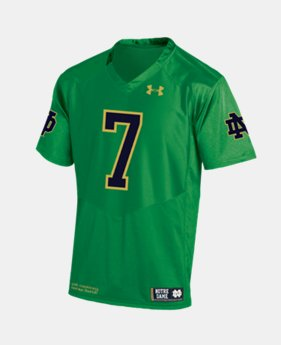 New Arrival Men's Notre Dame Replica Jersey  1  Color Available $95