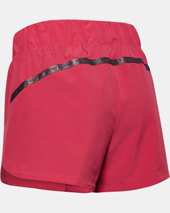 Women's UA Unstoppable Shorts, Pink, pdpMainDesktop image number 3