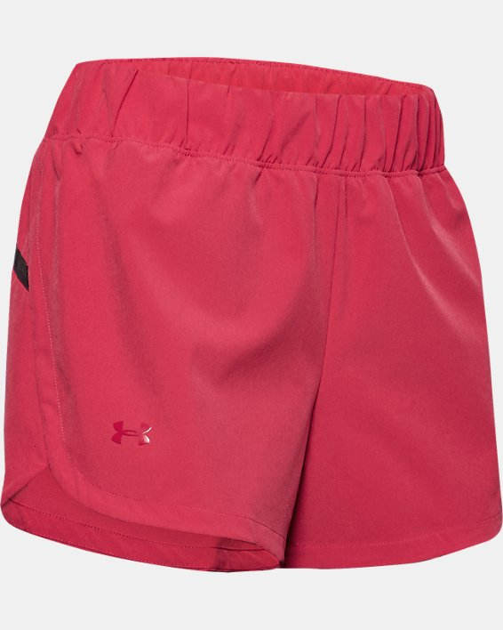 Women's UA Unstoppable Shorts, Pink, pdpMainDesktop image number 2