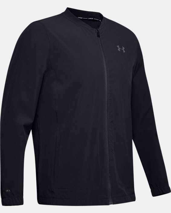 Men's UA Storm Launch 2.0 Jacket, Black, pdpMainDesktop image number 4