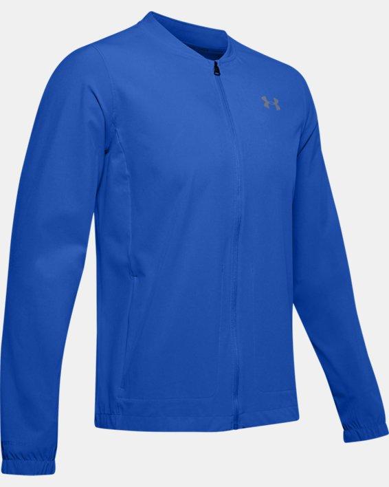 Men's UA Storm Launch 2.0 Jacket, Blue, pdpMainDesktop image number 4